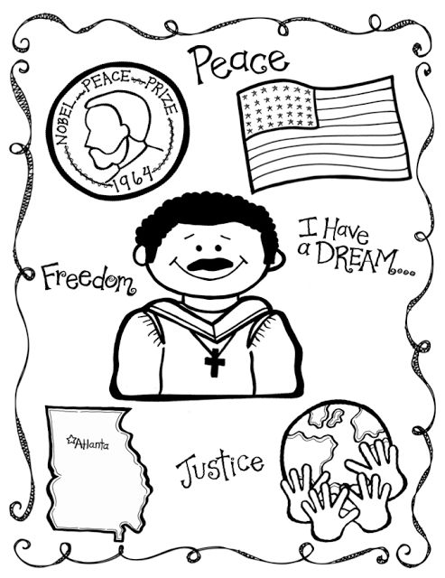493x640 Free Martin Luther King Coloring Pages Martin Luther King Jr