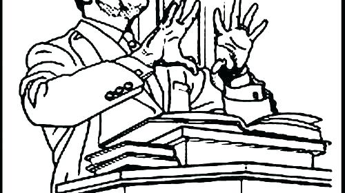 500x280 Martin Luther King Jr Coloring Pages
