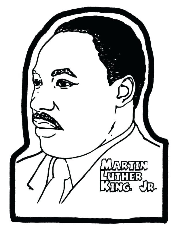 618x819 Martin Luther King Jr Coloring Pictures