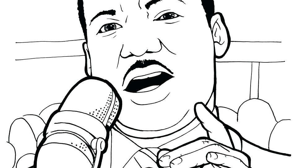 960x544 Free Printable Martin King Jr Day Coloring Pages Day Free Coloring