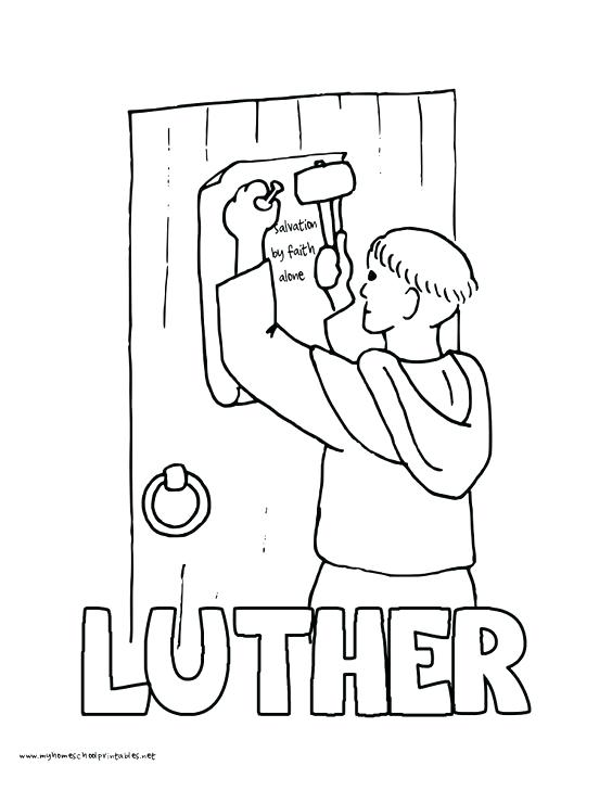 Martin Luther King Coloring Pages Printable At Getdrawings Com