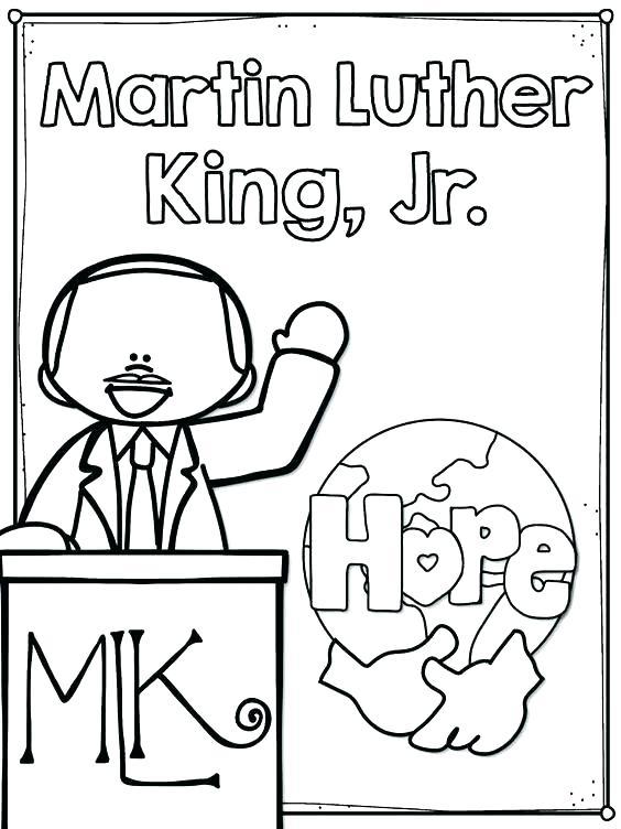 564x752 Martin King Jr Coloring Pages Page On Martin King Martin King Jr