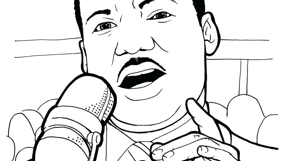 Martin Luther King Jr Coloring Pages Printable at ...