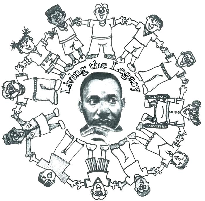 700x688 Martin Luther King Jr Day Coloring Pages Martin King Jr Day