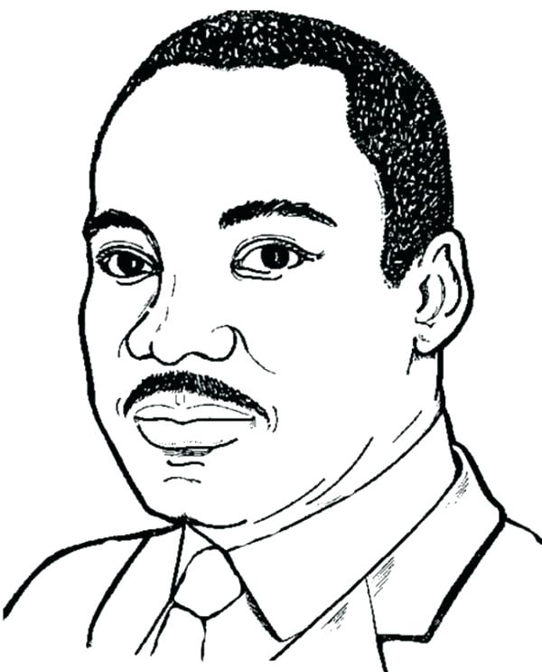 600x743 Mlk Coloring Pages Dove Doodle Colouring Page Martin Luther King