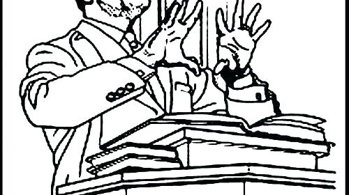 500x280 Coloring Pages Martin Luther King Jr Coloring Pages For Martin