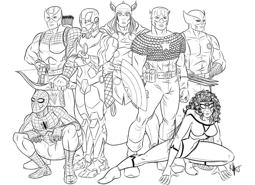 1024x745 Free Printable Avengers Coloring Pages Az Coloring Pages Free