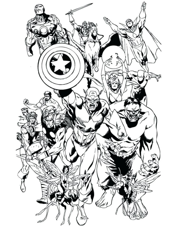 742x960 Marvel Coloring Pages Avengers Coloring Pages Marvel Superheroes