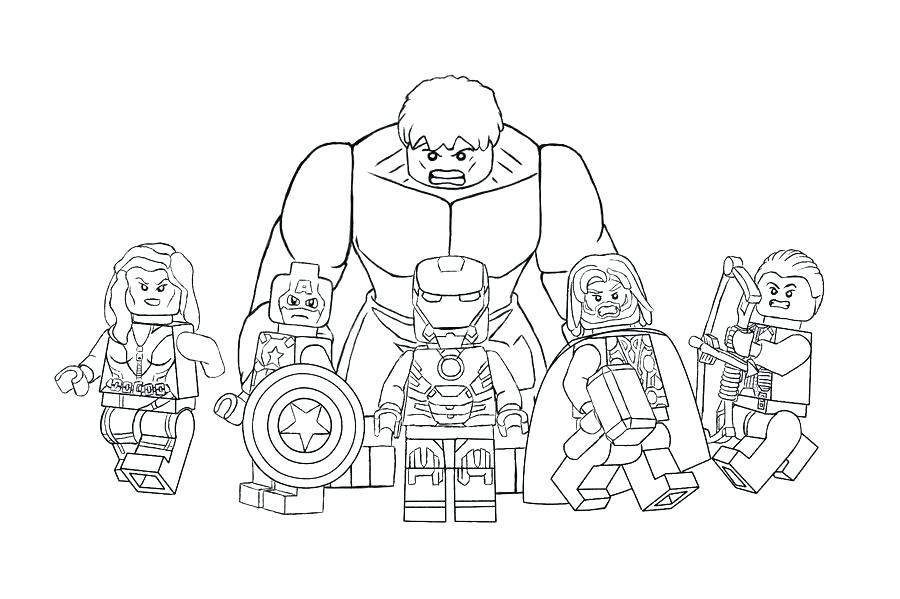 900x599 Marvel Coloring Pages Coloring Pages Avengers Avengers Coloring