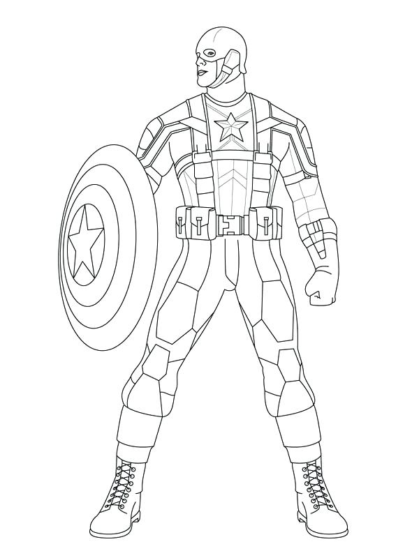 Marvel Avengers Coloring Pages At Getdrawings Free Download