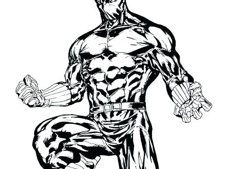 440x330 Panthers Coloring Pages Panther Coloring Page New Black Panther