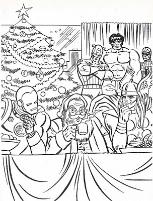 Marvel Christmas Coloring Pages At Getdrawings Com Free For