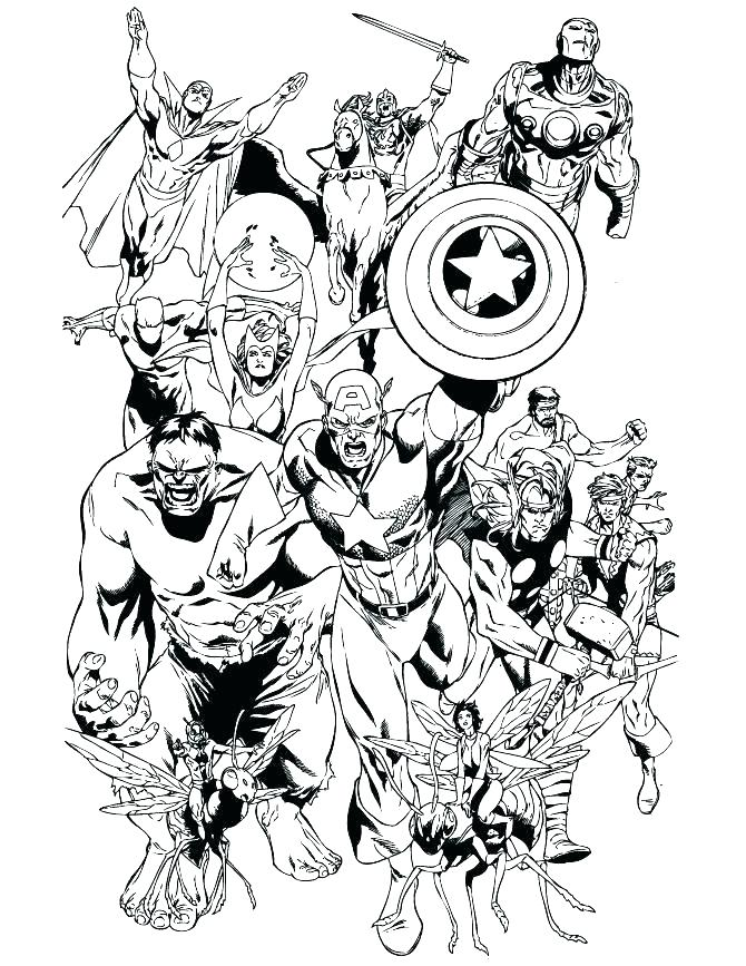 670x867 Printable Marvel Coloring Pages Avengers Coloring Pages