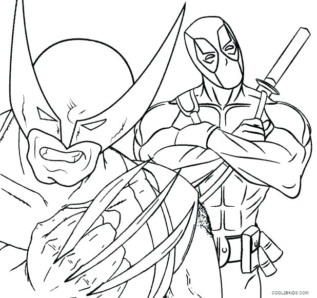 Marvel Coloring Pages at GetDrawings.com | Free for personal use ...