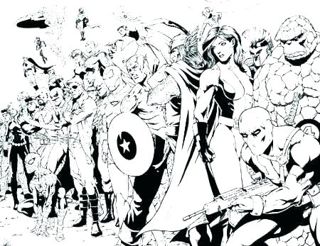 450x347 Coloring Pages Marvel Marvel Avengers Coloring Pages Superheroes