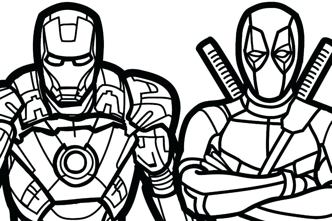 1080x720 Marvel Coloring Page Lovely Marvel Coloring Pages In Free Coloring