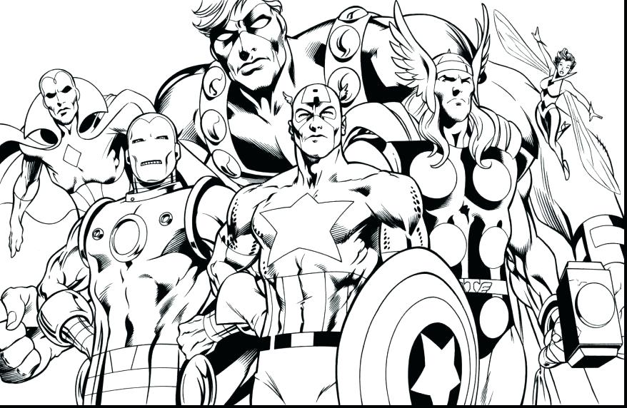878x572 Marvel Coloring Pages Marvel Avengers Coloring Pages Coloring