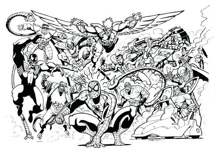 700x500 Marvel Super Heroes Superheroes Printable Coloring Pages Drawing
