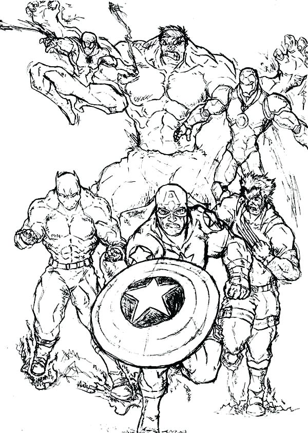 600x843 Super Hero Color Pages Fresh Marvel Super Heroes Coloring Pages