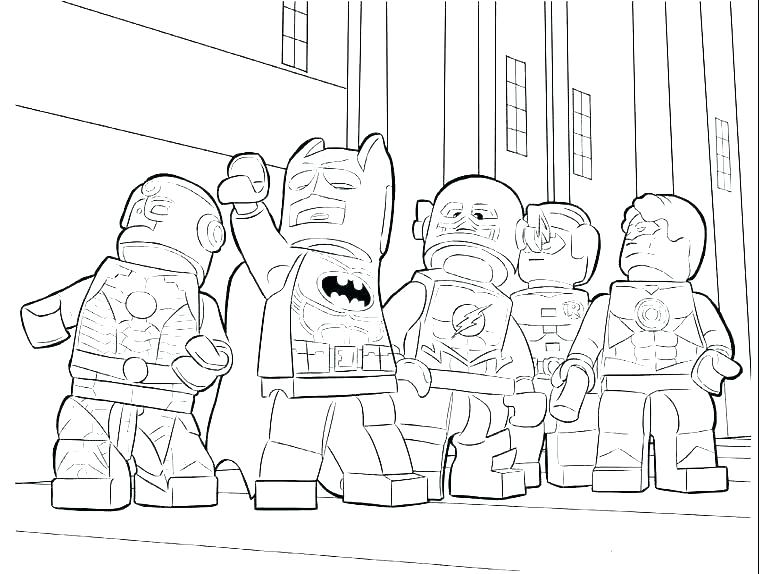 759x574 Marvel Coloring Page