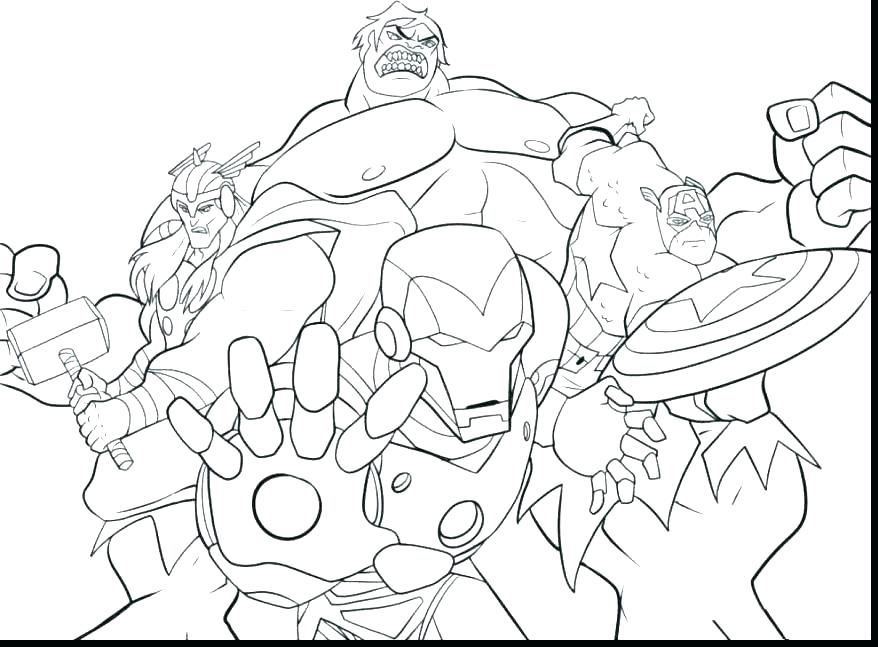 878x647 Marvel Coloring Page Avenger Coloring Page Avengers Coloring Free