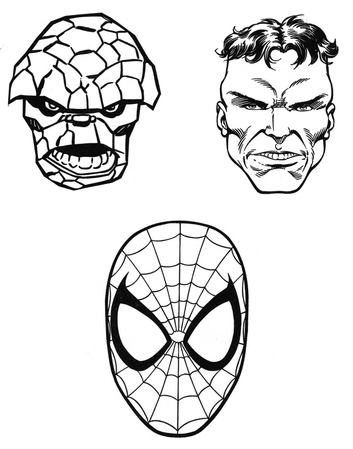 1122x1428 Marvel Superhero Coloring Pages