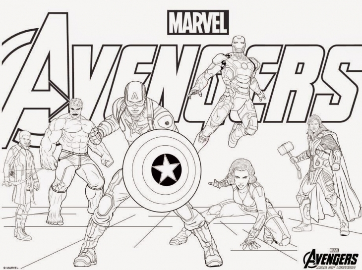 Marvel Coloring Pages For Kids At Getdrawings Com Free For