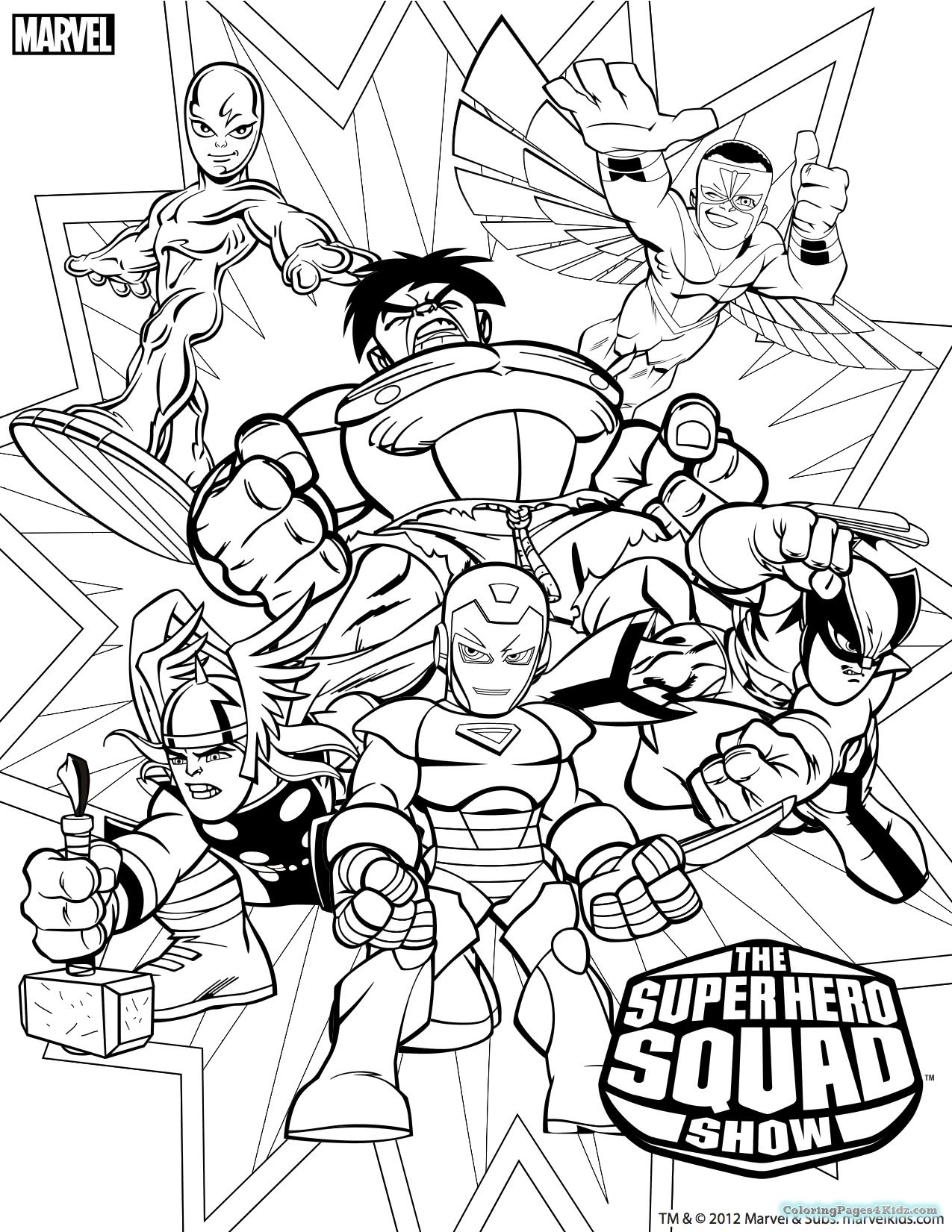 1275x1651 Marvel Comic Book Coloring Pages