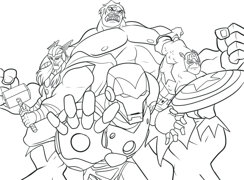 1024x755 Marvel Comics Coloring Pages Marvel Comic Book Coloring Pages