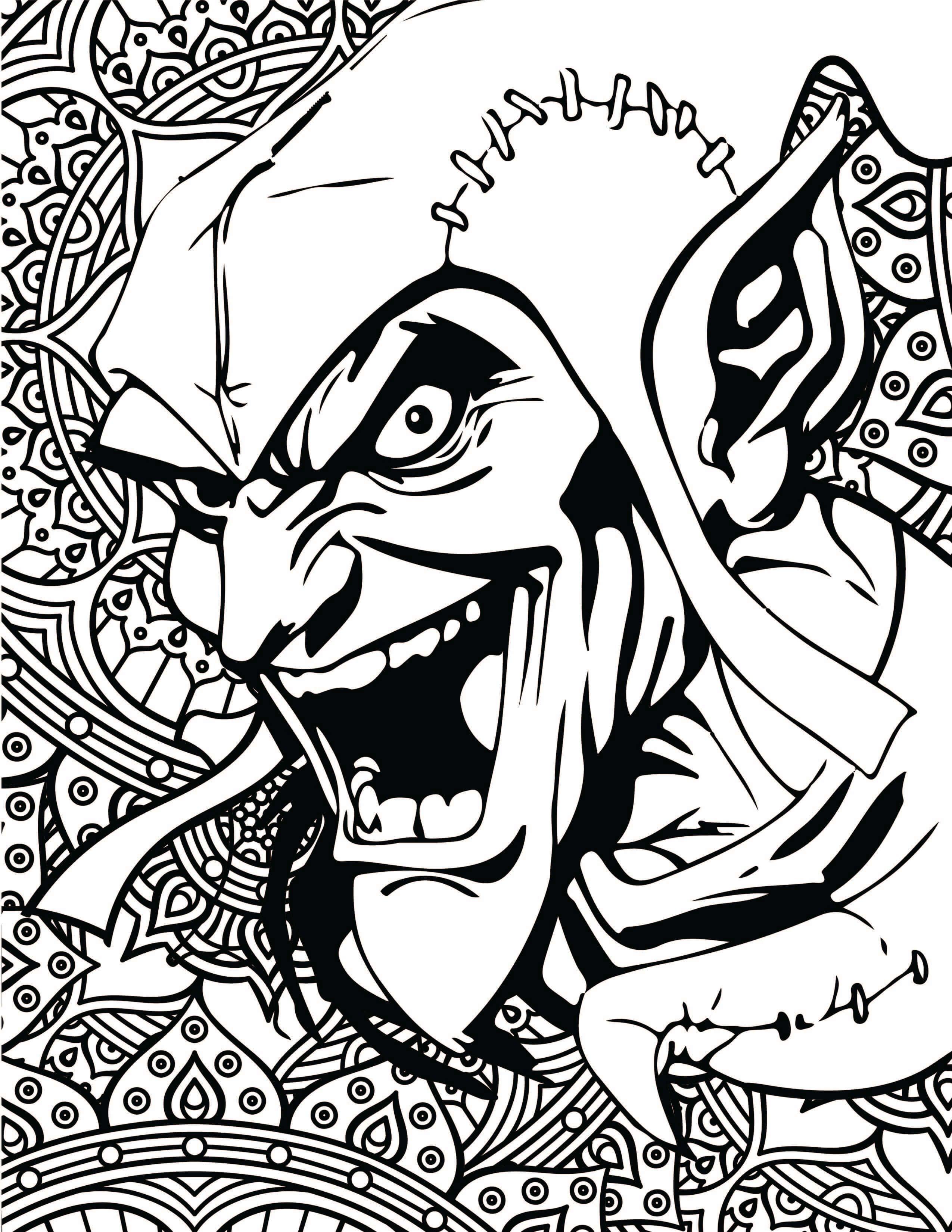 2550x3300 Marvel Villains Printable Coloring Pages Marvel Villains, Marvel