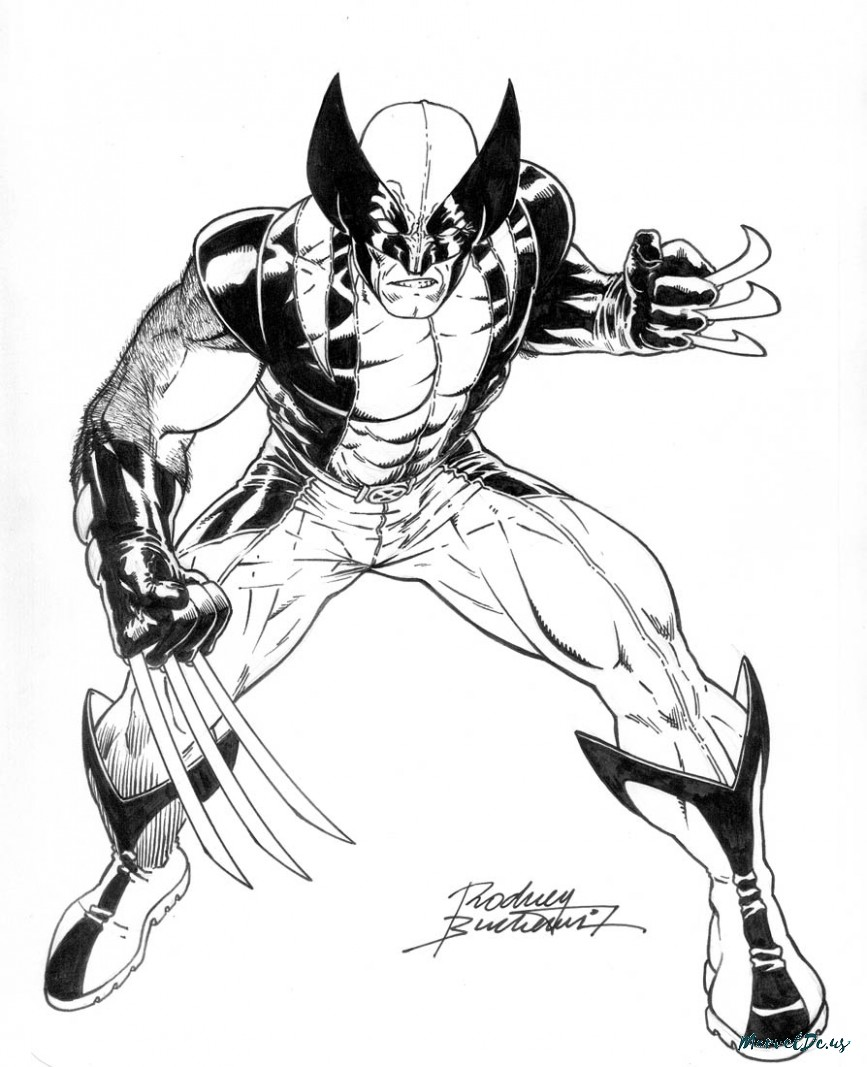 Marvel Comics Coloring Pages At Getdrawings Com Free For Personal