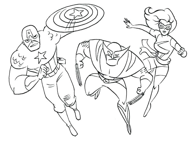 800x600 Marvel Superhero Color Pages Printable Superhero Coloring Pages