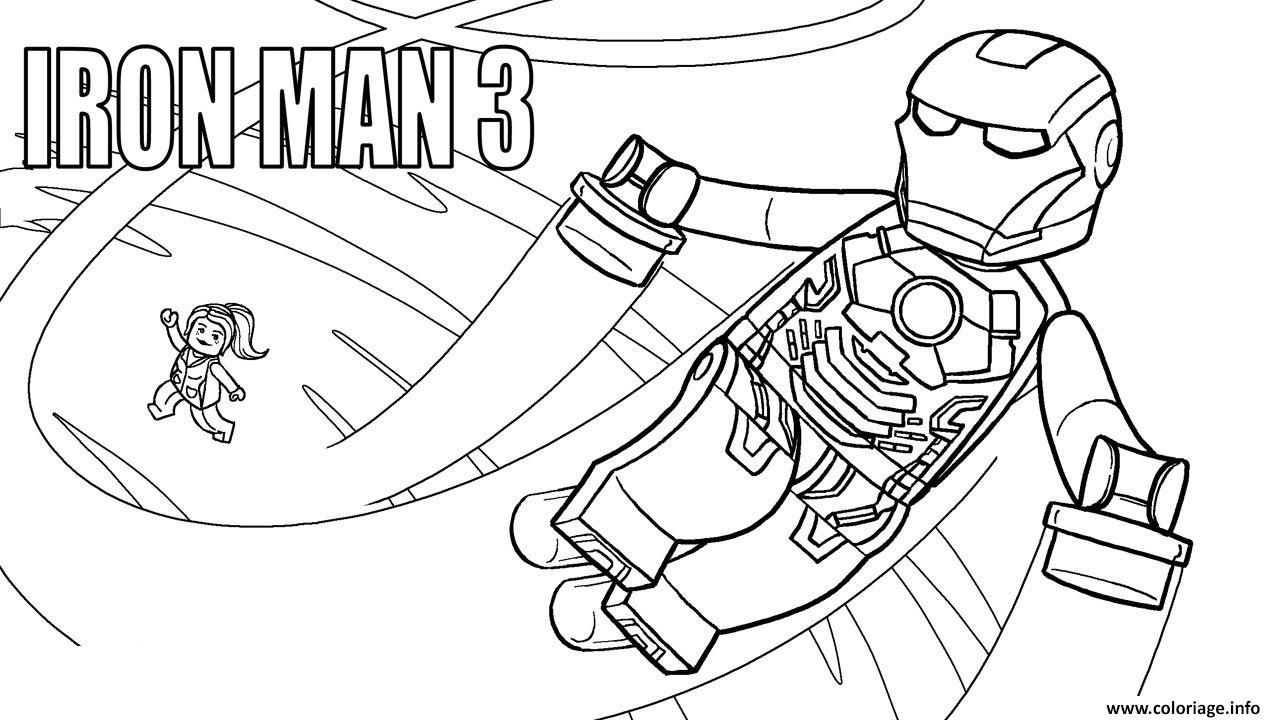 Marvel Iron Man Coloring Pages At Getdrawings Free Download