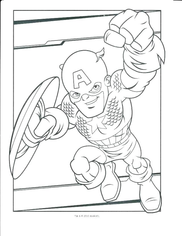 Marvel Superhero Coloring Pages At GetDrawings Free Download