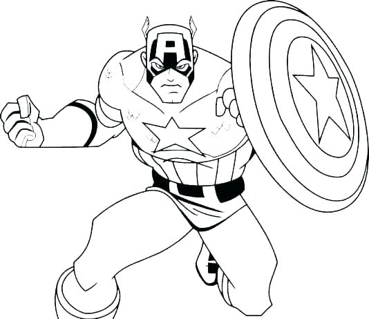 534x462 Superheros Coloring Page Marvel Superhero Coloring Pages Printable