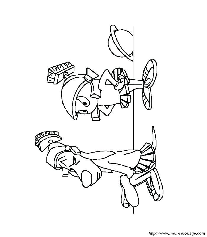 700x800 Marvin The Martian Coloring Pages Printable Funny Martian Coloring