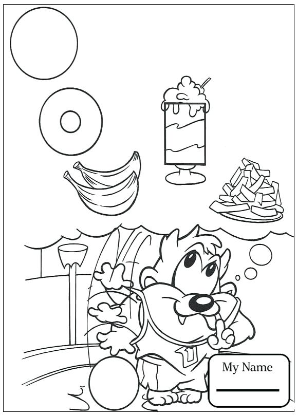 578x810 Marvin The Martian Coloring Pages