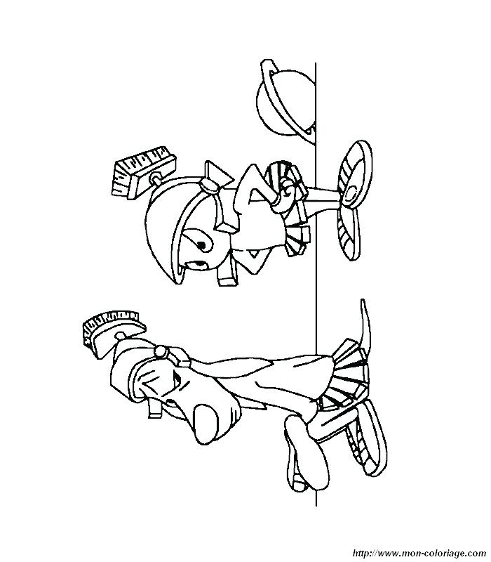 700x800 Marvin The Martian Coloring Pages Sick Coloring Pages Marvin