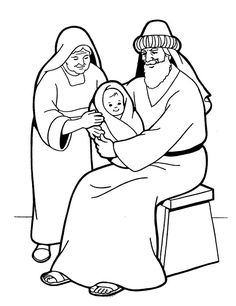236x306 Zacharias And Elizabeth Coloring Pages Bible Helps