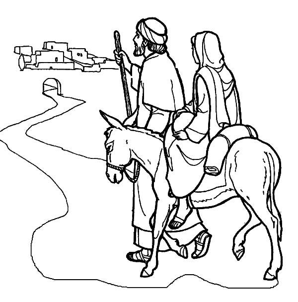 mary and joseph coloring pages 28
