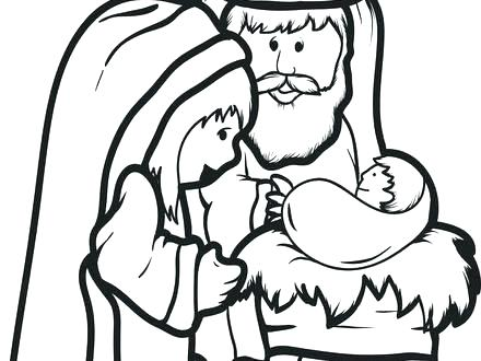 440x330 Mary And Martha Coloring Page And Coloring Pages Free Printable