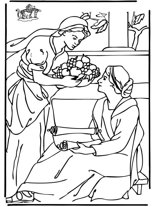 660x880 Mary And Martha Coloring Page Luxury Joseph Bible Story Colouring