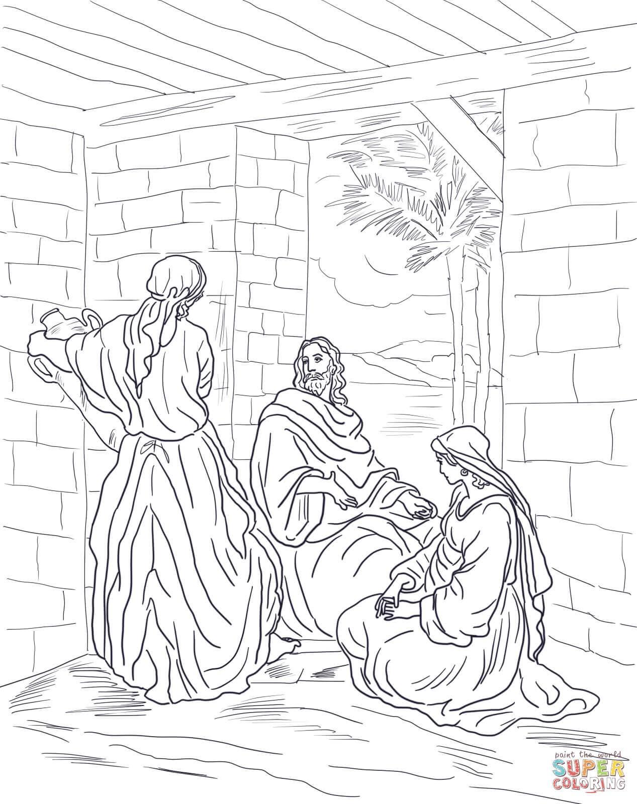 1267x1600 Shocking Jesus Calls Philip And Nathanael Coloring Page Printable