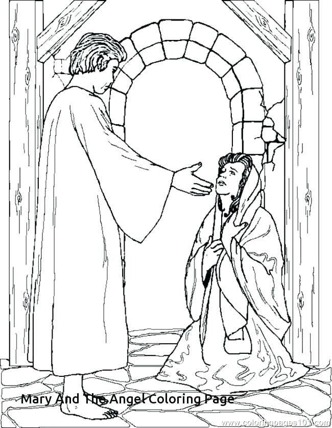650x837 Coloring Pages Of Mary Coloring Pages Bible Colouring Pages Mary