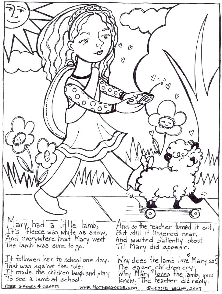 728x962 Had A Little Lamb Printable Activities Had A Little Had A Little