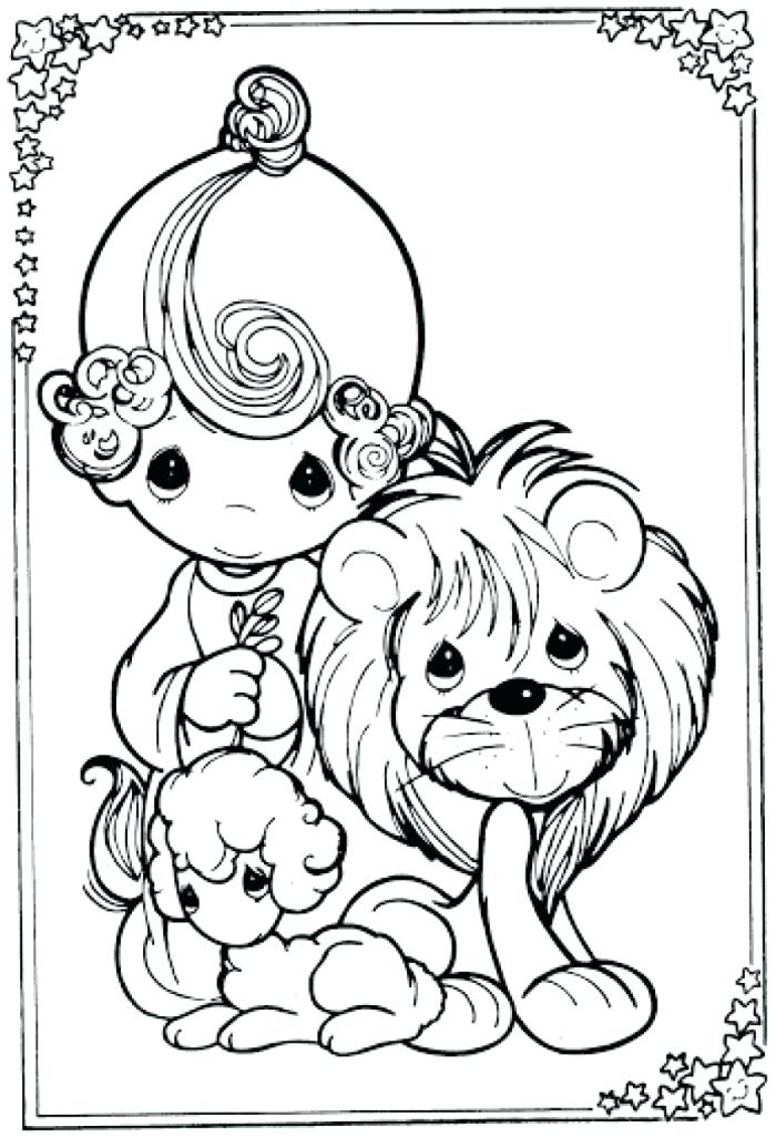 700x1026 Mary Had A Little Lamb Coloring Page Lion And Pages Best