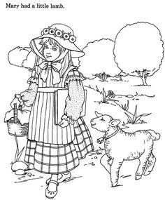 236x285 Mary Had A Little Lamb, Mary Had A Little Lamb And She Shepherds