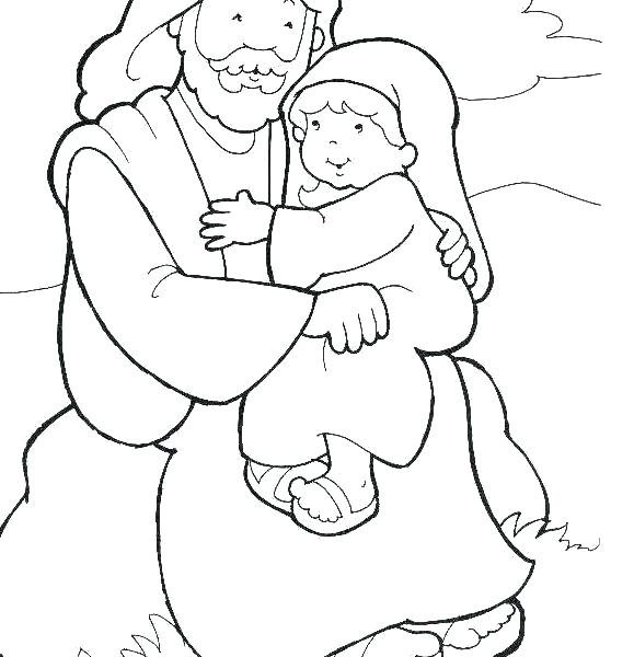 579x600 Baby Jesus Coloring Pages As A Child Coloring Pages As A Child
