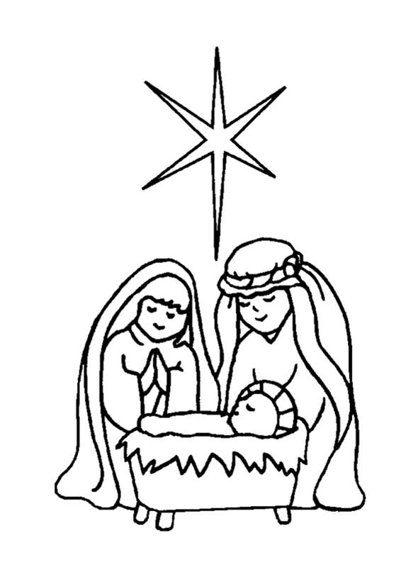 573x800 Free Christian Coloring Pages For Kids And Young Children Level