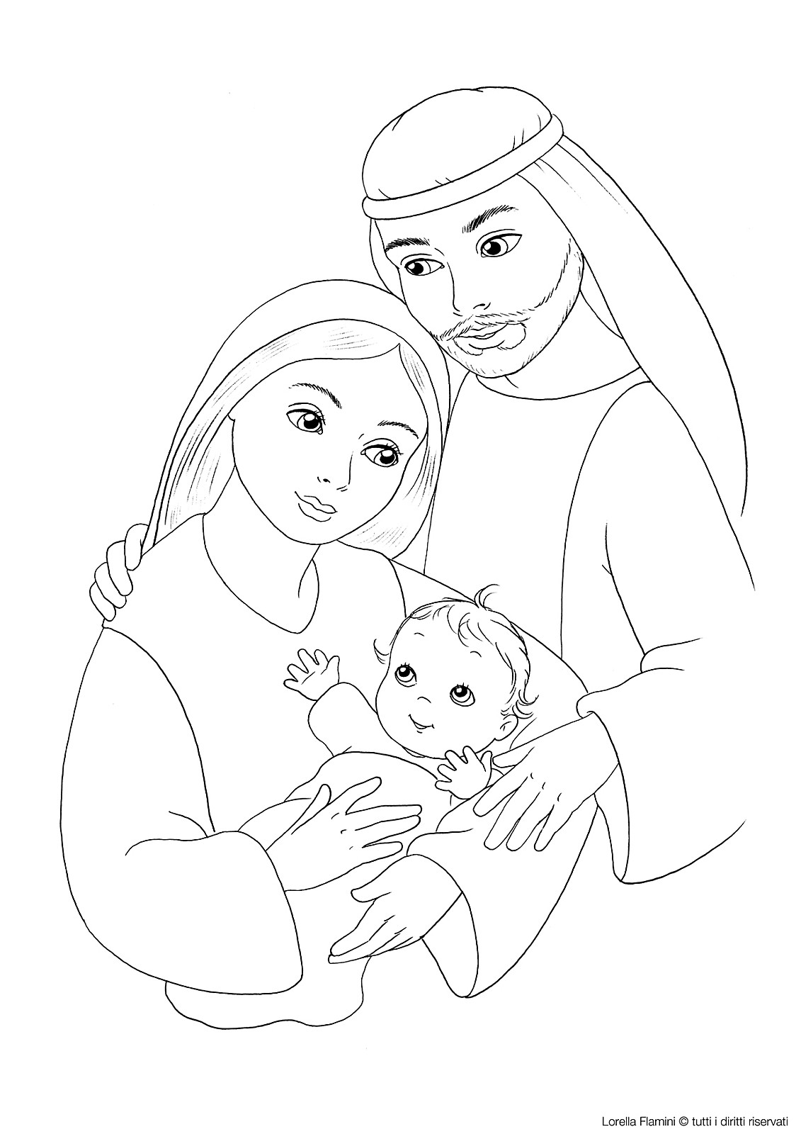 1131x1600 Jesus Mary And Joseph Coloring Page Sunday School Coloring Pages